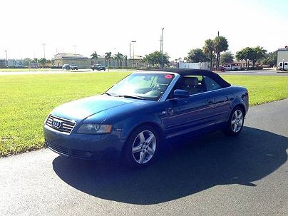Photo 1:  2004 Audi A4 1.8T in Hallandale, FL exterior view from front driver's side