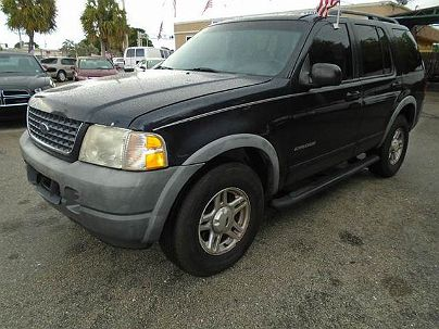 Photo 1:  2002 Ford Explorer XLS in Pompano Beach, FL exterior view from front driver's side