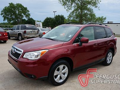 Photo 1: Venetian Red Pearl 2016 Subaru Forester 2.5i Limited in Broken Arrow, OK exterior view from front driver's side
