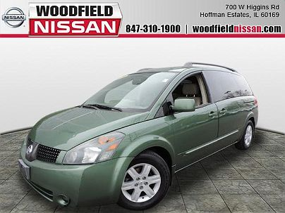 Photo 1: Green Tea Metallic 2004 Nissan Quest SL in Hoffman Estates, IL exterior view from front driver's side