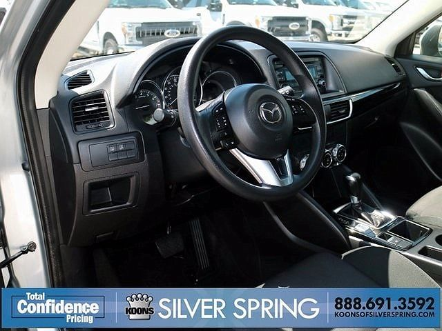 Photo 6: Interior Dashboard And Console 2016 Mazda CX 5 In Silver Spring MD