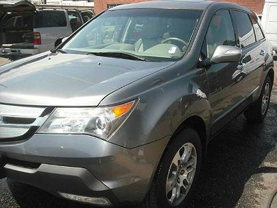 Photo 1: Gray Metallic 2008 Acura MDX Technology in Englewood, CO