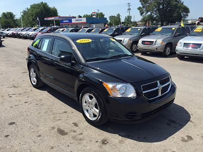 Photo 1:  2009 Dodge Caliber SXT in Chesaning, MI exterior view of driver's side