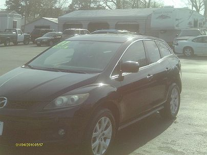 Photo 1: Burgundy 2007 Mazda CX-7 Sport in Grafton, VA exterior view of passenger side