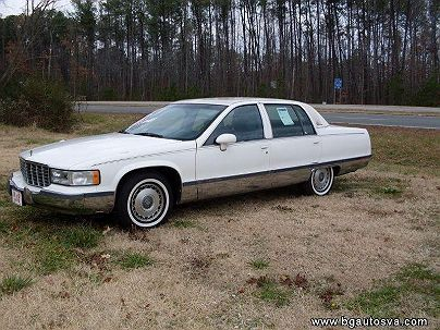 Photo 1:  1994 Cadillac Fleetwood in Hayes, VA exterior view from front driver's side