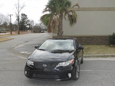 Photo 1:  2011 Kia Forte SX in Boiling Springs, SC exterior view from front driver's side