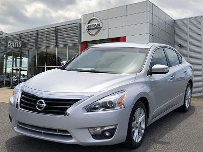 Photo 1: Brilliant Silver 2013 Nissan Altima SV in Murray, KY