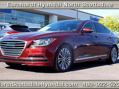 Photo 1:  2015 Hyundai Genesis in Scottsdale, AZ exterior view from front driver's side