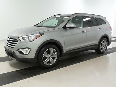Photo 1:  2016 Hyundai Santa Fe SE in Marlborough, MA exterior view from front driver's side