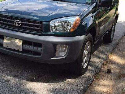 Photo 1:  2001 Toyota RAV4 Base in Decatur, GA front view of grill, headlights, hood and windshield