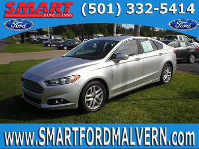 Photo 1: Ingot Silver Metallic 2014 Ford Fusion SE in Malvern, AR exterior view from front driver's side