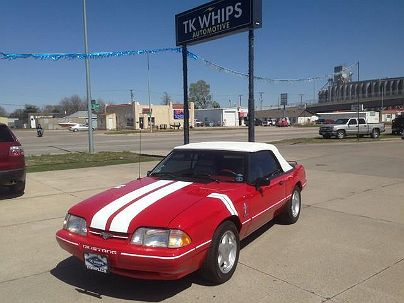 Photo 1:  1992 Ford Mustang LX in Kearney, NE exterior view from front driver's side