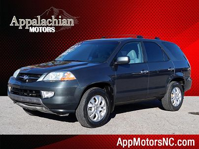 Photo 1: Midnight Blue Pearl 2003 Acura MDX Touring in Asheville, NC exterior view from front driver's side