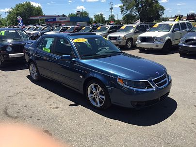 Photo 1:  2008 Saab 9-5 in Chesaning, MI exterior view of driver's side