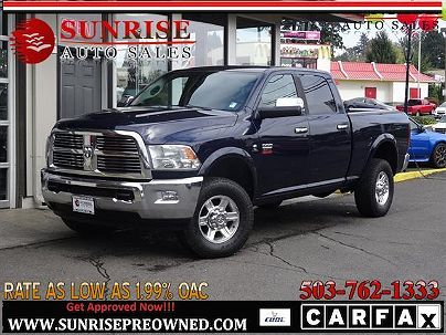 Photo 1:  2012 Ram 2500 Laramie in Milwaukie, OR exterior view from front driver's side
