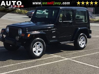Photo 1:  2002 Jeep Wrangler Sport in Huntington, NY exterior view from rear passenger side