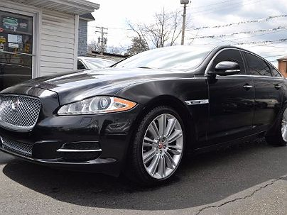 Photo 1: Ebony Black 2014 Jaguar XJ XJL Supercharged in Baltimore, MD