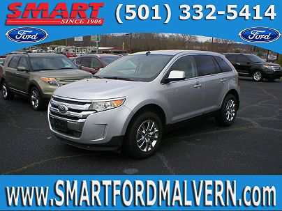 Photo 1: Ingot Silver Metallic 2011 Ford Edge Limited in White Hall, AR