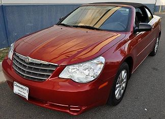 Photo 1: Red 2009 Chrysler Sebring in Chantilly VA exterior view from front driver's side