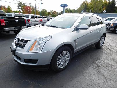 Photo 1:  2011 Cadillac SRX Luxury in Gowanda, NY exterior view from front driver's side