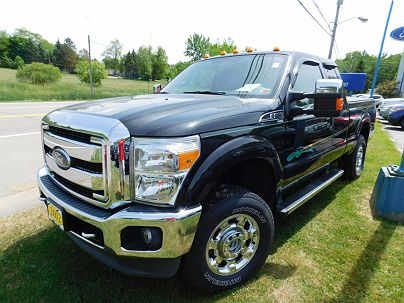 Photo 1:  2012 Ford F-250 XLT in Gowanda, NY exterior view from front driver's side