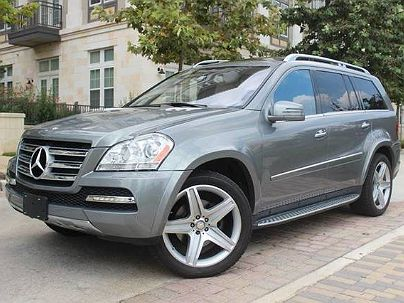 Photo 1:  2011 Mercedes-Benz GL 550 in San Antonio, TX exterior view from front driver's side