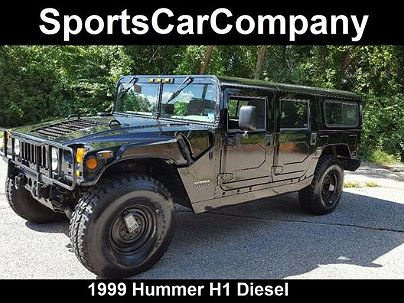 Photo 1:  1999 AM General Hummer in La Jolla, CA exterior view of driver's side