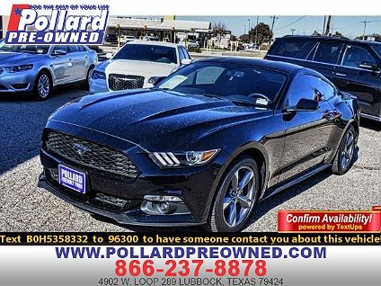 Car Dealerships In Lubbock Tx >> Used 2017 Ford Mustang For Sale In Lubbock Tx