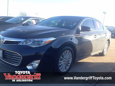 Photo 1: Attitude Black 2015 Toyota Avalon XLE Touring in Arlington, TX exterior view from front driver's side