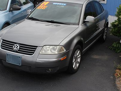 Photo 1:  2004 Volkswagen Passat GLS in Augusta, GA exterior view from front driver's side