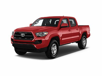 Photo 1: Red 2018 Toyota Tacoma In Bluffton SC Exterior View From Front  Driveru0027s Side
