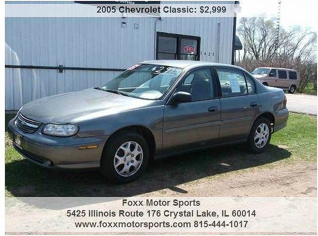 Used 2005 Chevrolet Malibu Classic Base For Sale In Crystal Lake Il 1g1nd52f55m236564