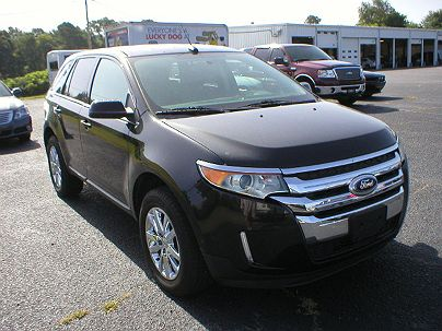 Photo 1: Tuxedo Black Metallic 2014 Ford Edge Limited in White Hall, AR
