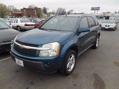Photo 1: Teal 2006 Chevrolet Equinox LT in Oregon, OH exterior view from front driver's side