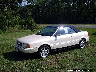 Photo 1:  1998 Audi Cabriolet in Hayes, VA exterior view of driver's side