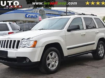 Photo 1: Stone White 2008 Jeep Grand Cherokee Laredo in Huntington, NY