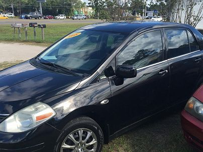 Photo 1:  2008 Nissan Versa S in Jacksonville, FL exterior view from front driver's side