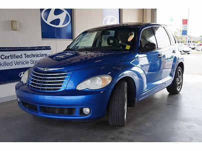 Photo 1: Electric Blue Pearl Coat 2006 Chrysler PT Cruiser GT in Broken Arrow, OK exterior view of passenger side