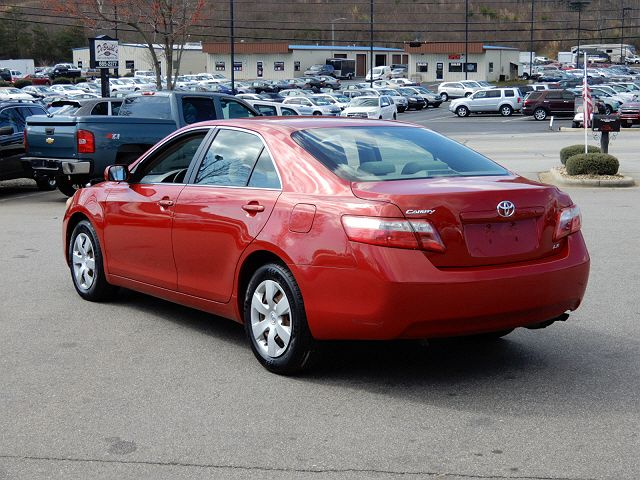 Beautiful Photo 8: Red 2007 Toyota Camry In Asheville NC Exterior View From Rear  Passenger Side