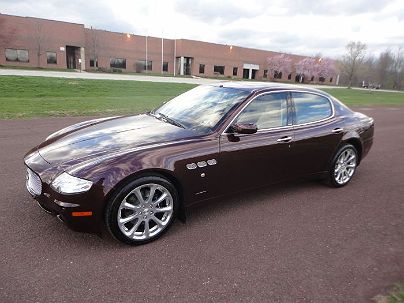 Photo 1: Burgundy Metallic 2008 Maserati Quattroporte Executive GT in Hatfield, PA